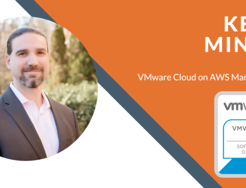 Kevin Mingee Attains VMware Cloud on AWS Certification